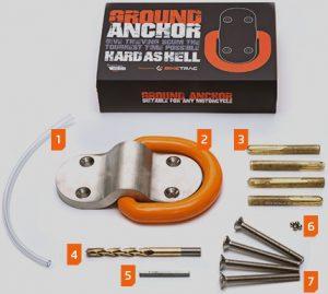 Biketrac anchor-orange
