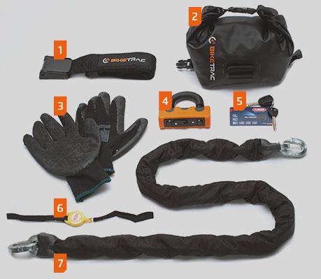 Biketrac Chain Kit