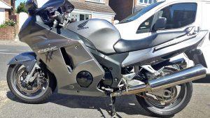 Honda Blackbird Silver